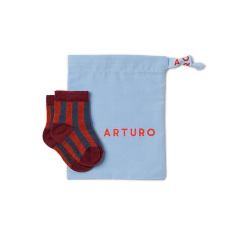 Baby Arturo blu - ruggine