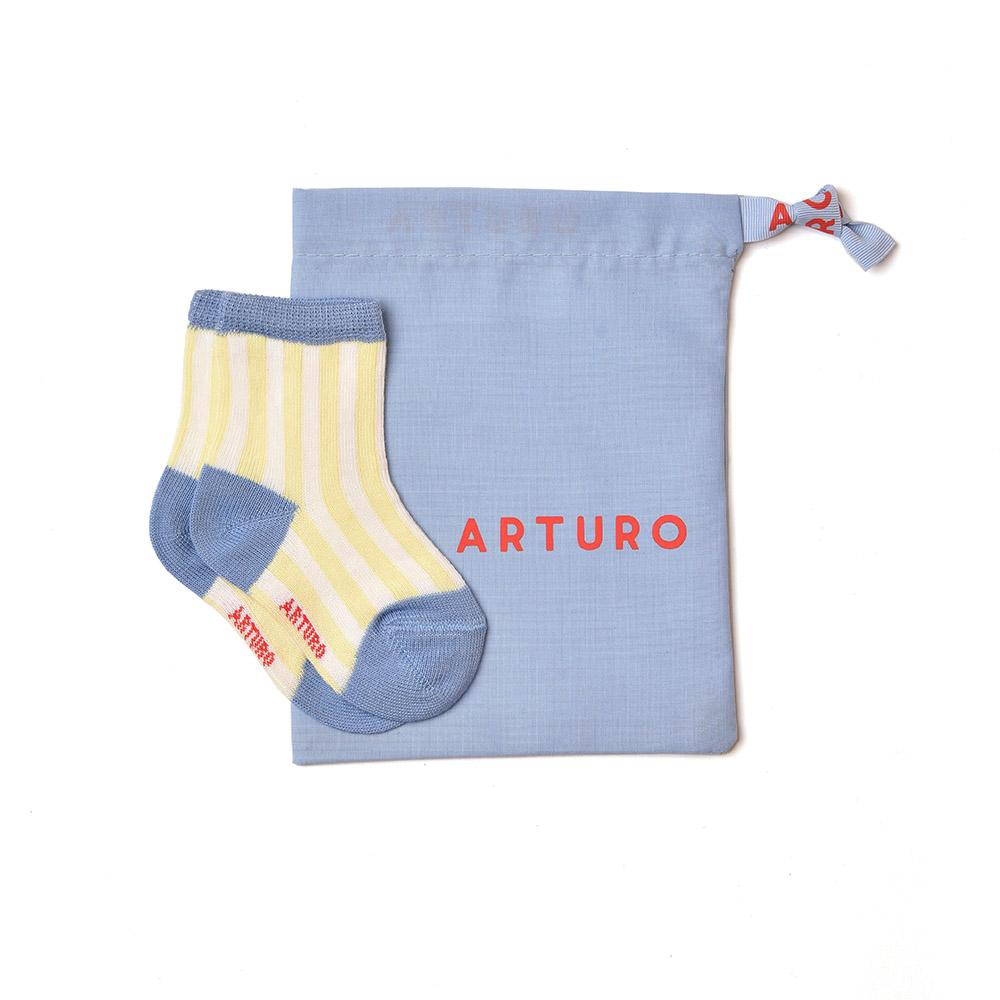 Baby Arturo yellow - white
