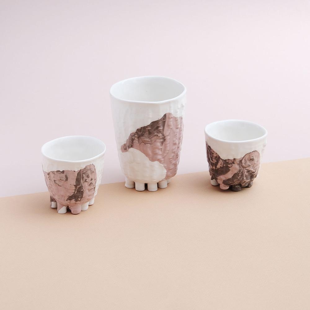 little feet pink little cup