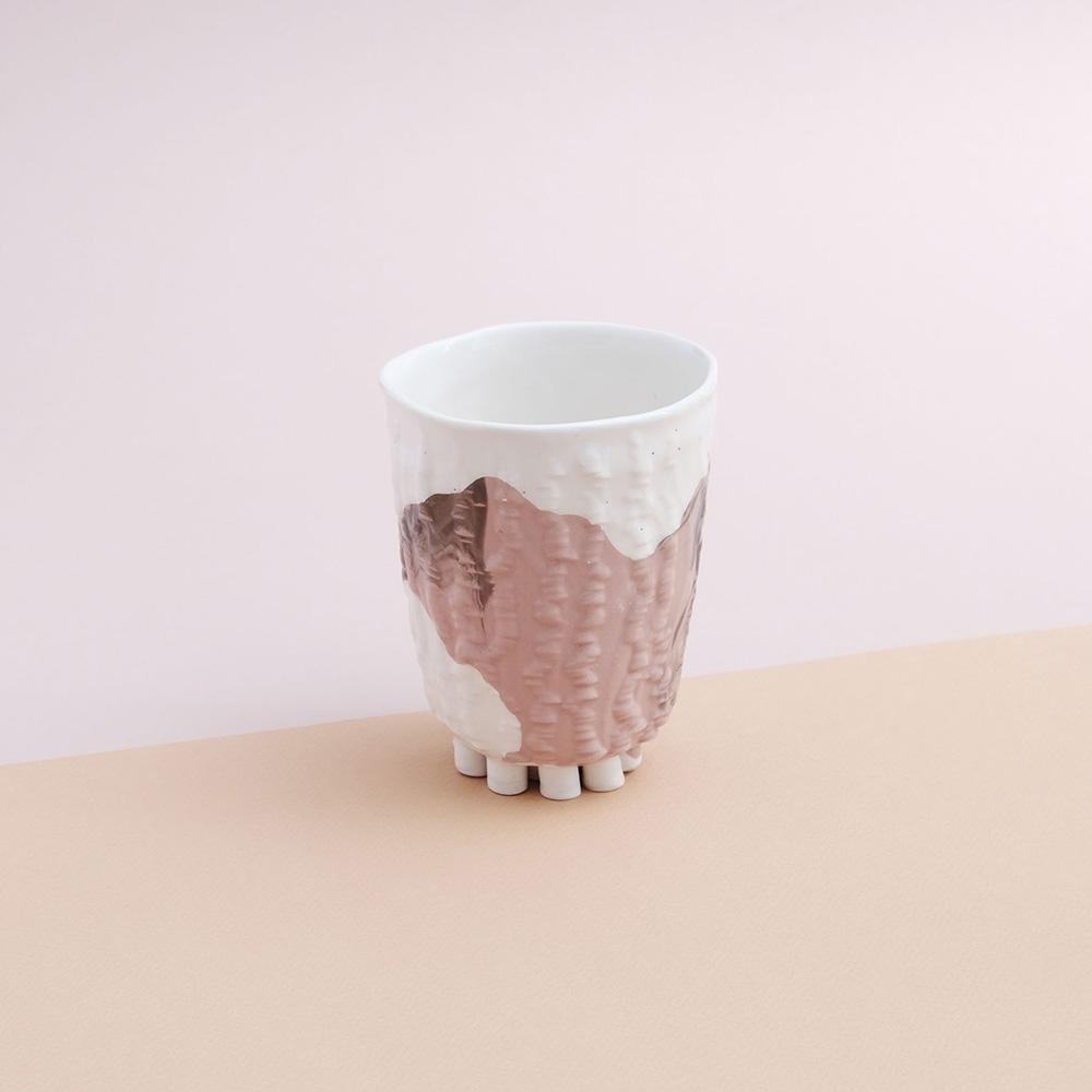 Cup little feet pink