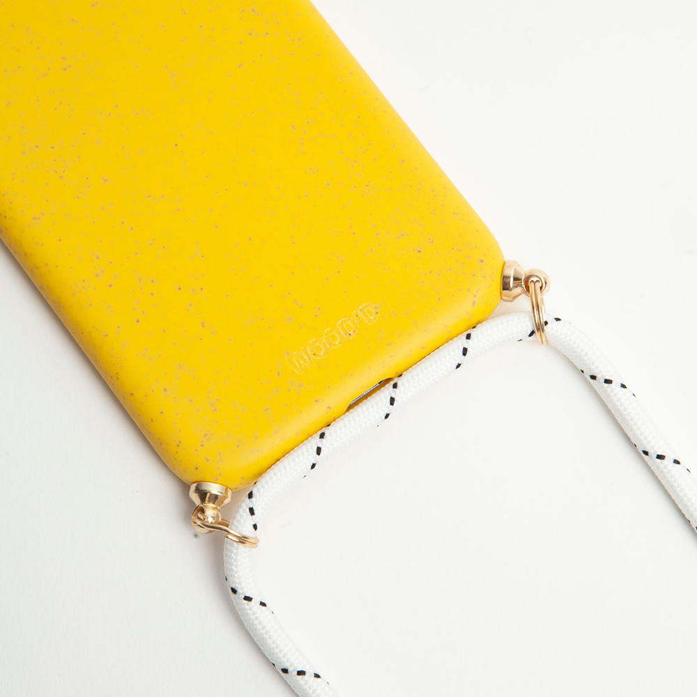 Compostable Necklace Yellow