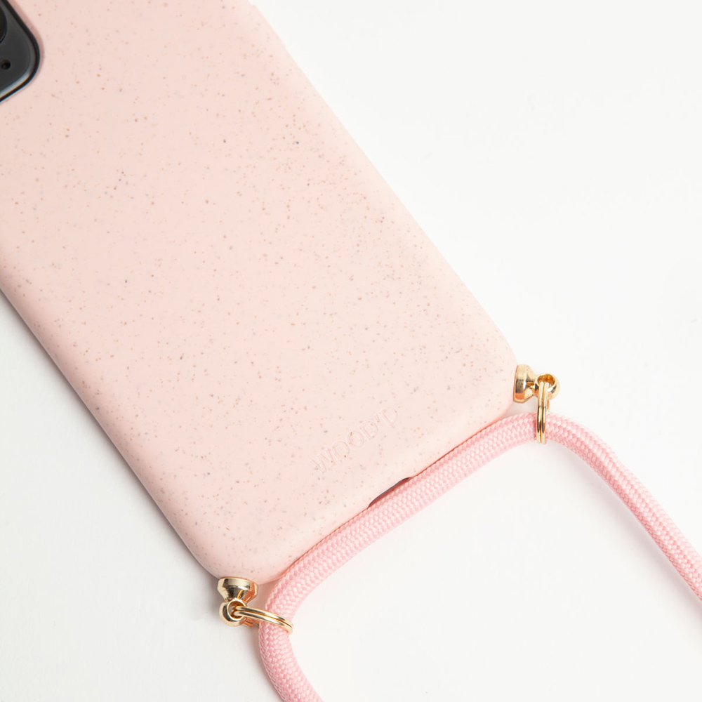 Compostable Necklace Pink