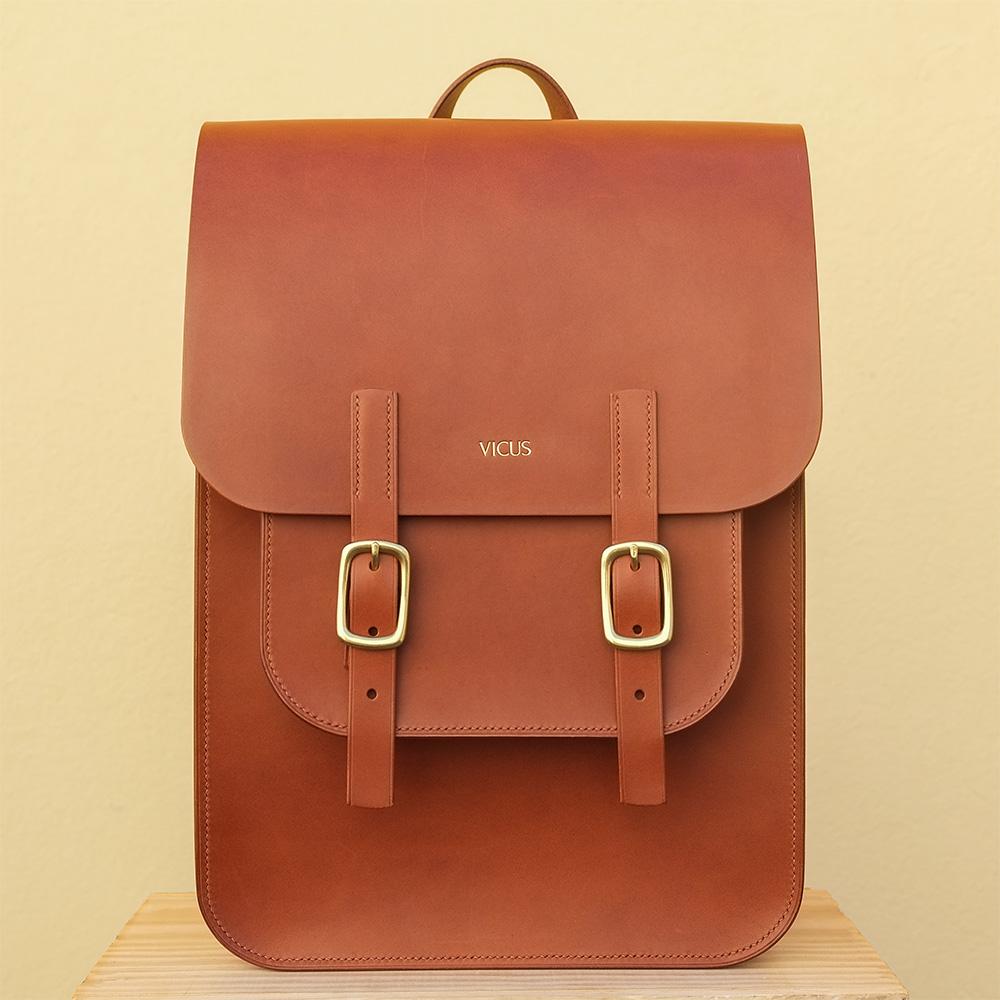 Acuzio tan backpack