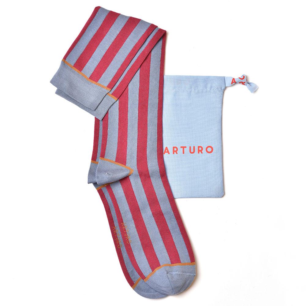 Arturo riga dritto - red/blue