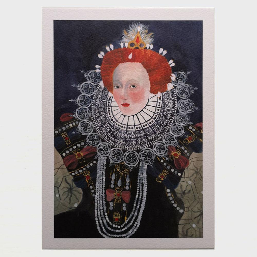 Queen Elizabeth I by Elenia Beretta
