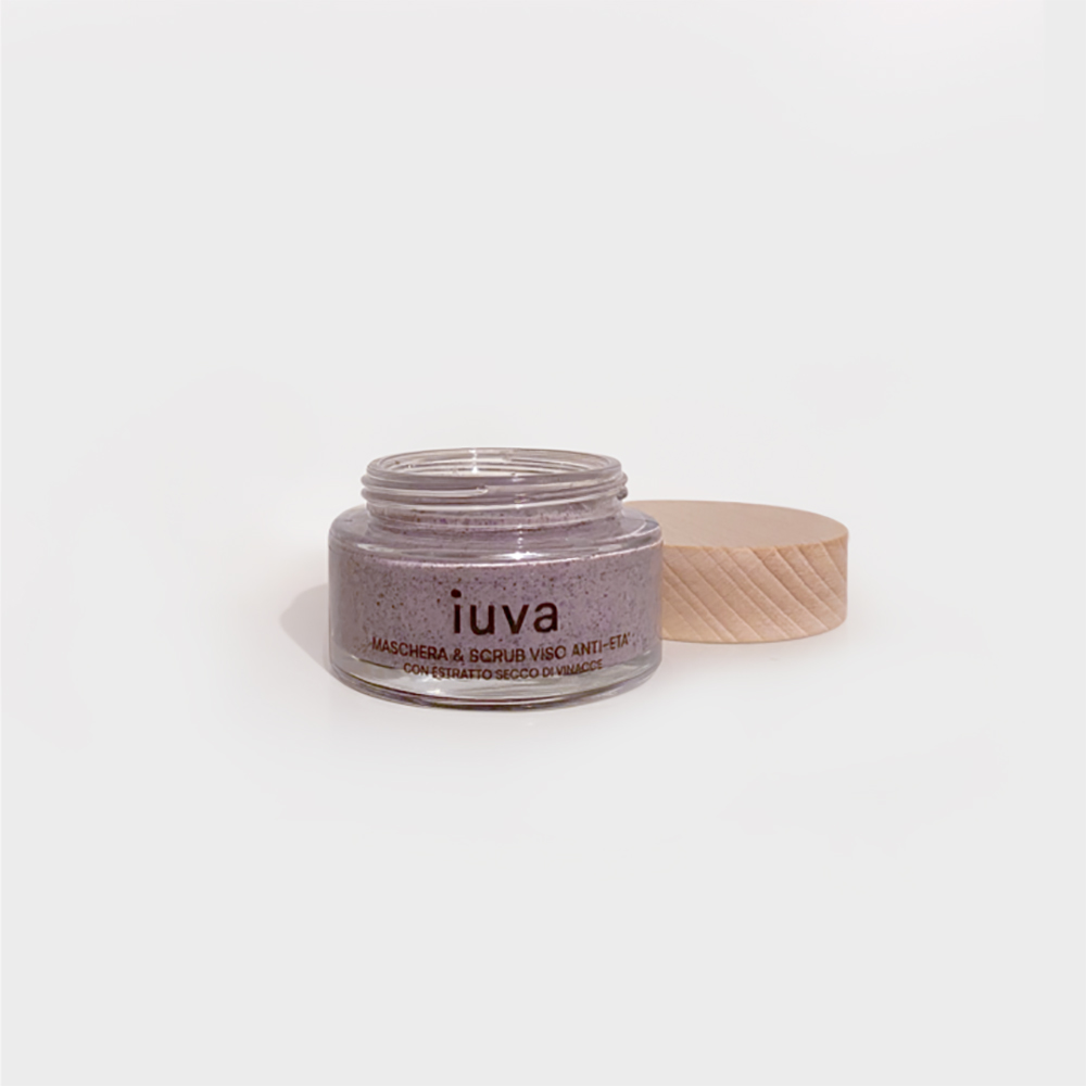 iuva - Anti-age mask and scrub