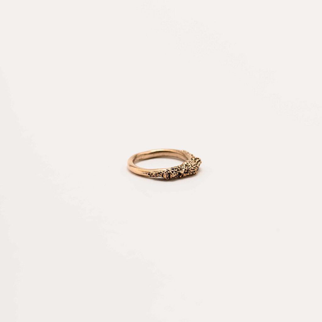 Corallo bronze ring