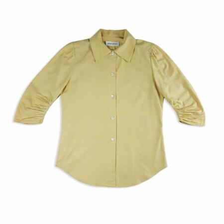 Daily regular shirt - golden beige