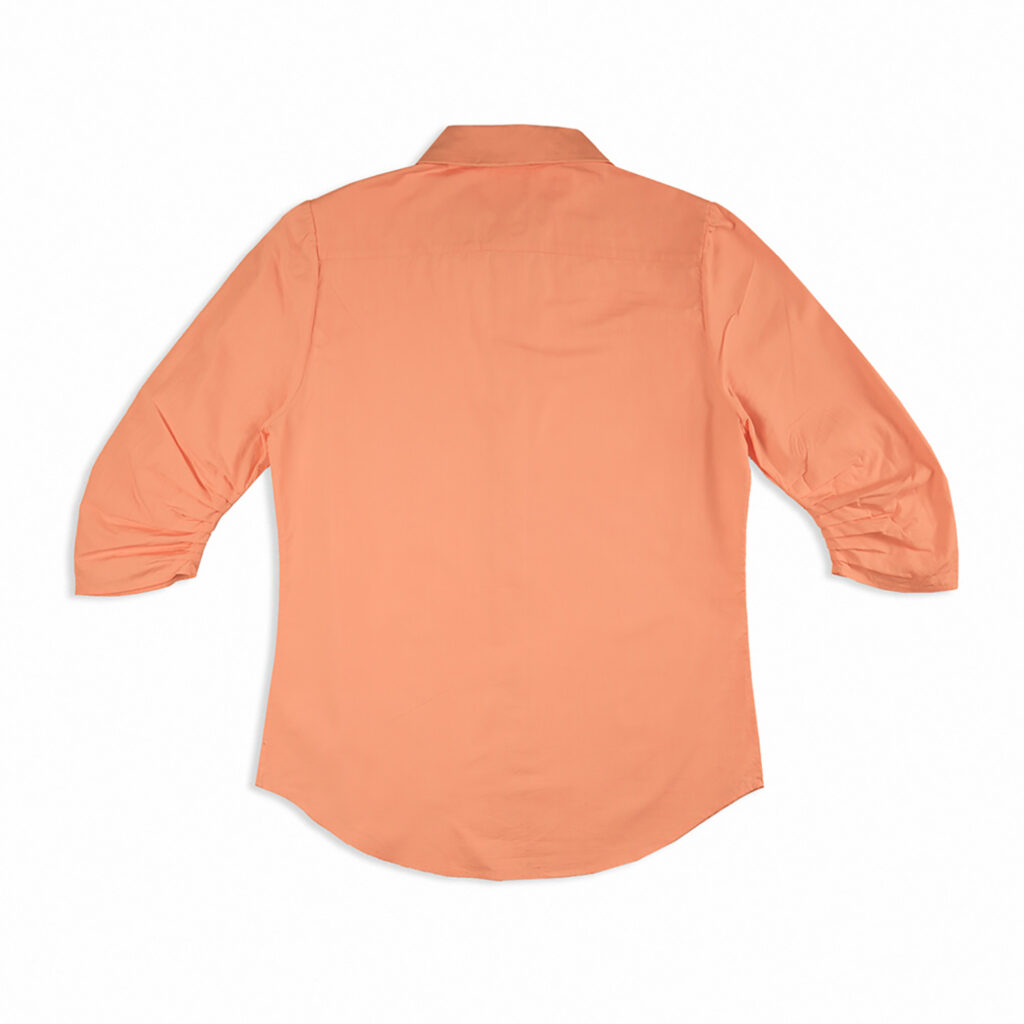 Daily regular shirt - light tangerine