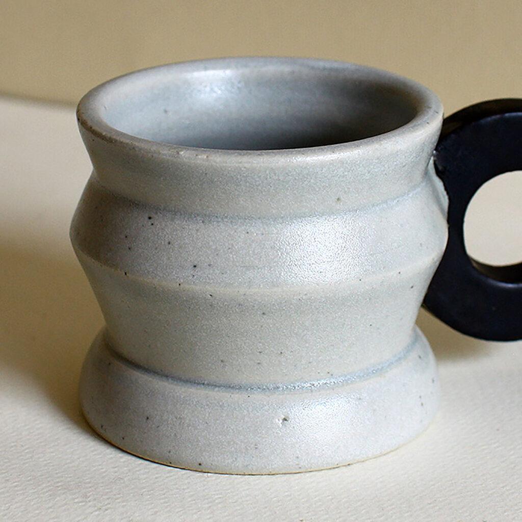 Geometric espresso cup