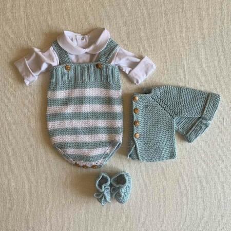 Newborn hug stripes