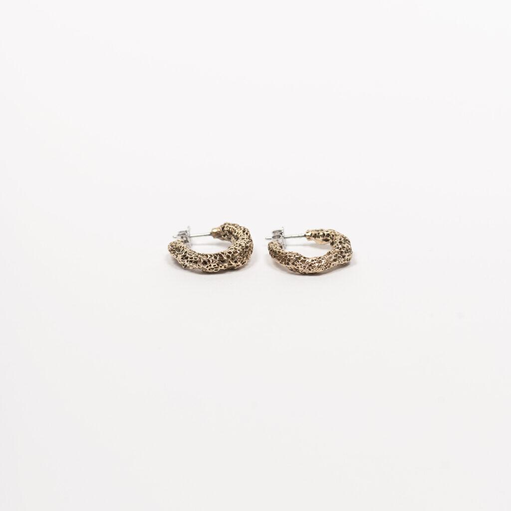 Corallo bronze earrings
