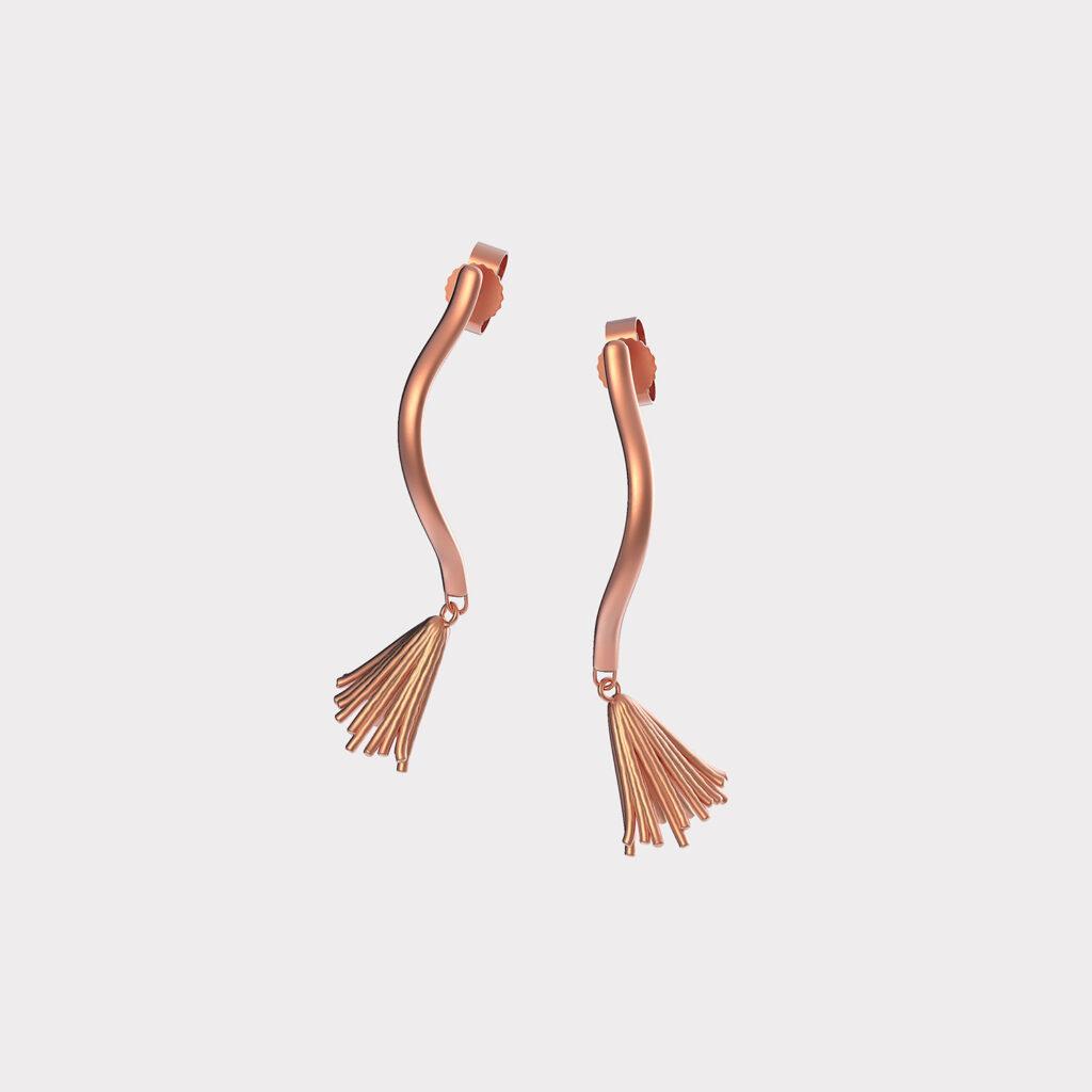 Fir earrings