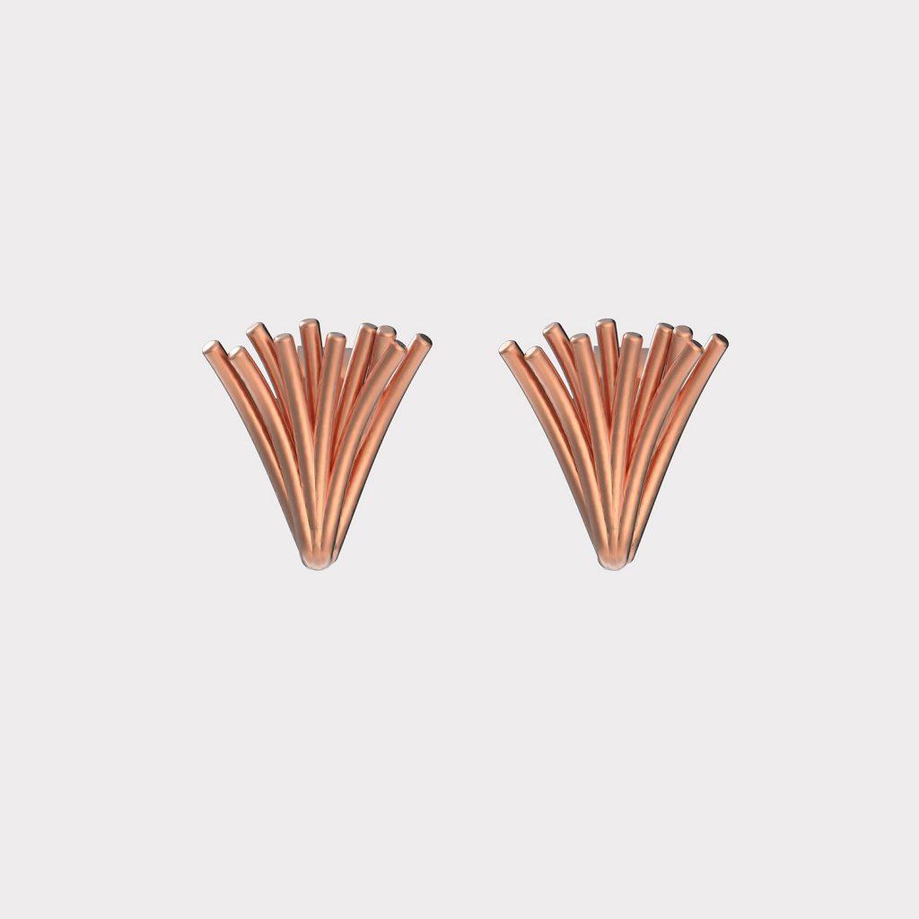 Cone earrings
