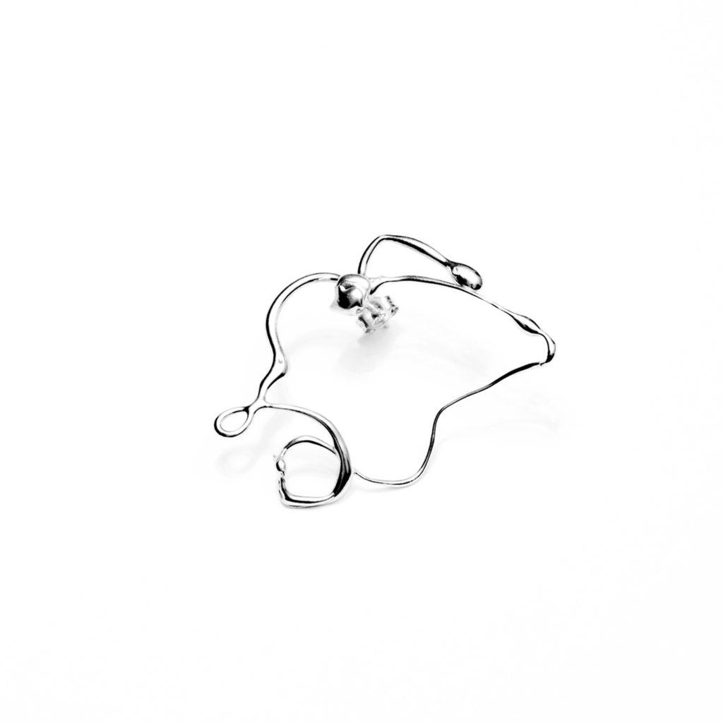 Fluida single earring II