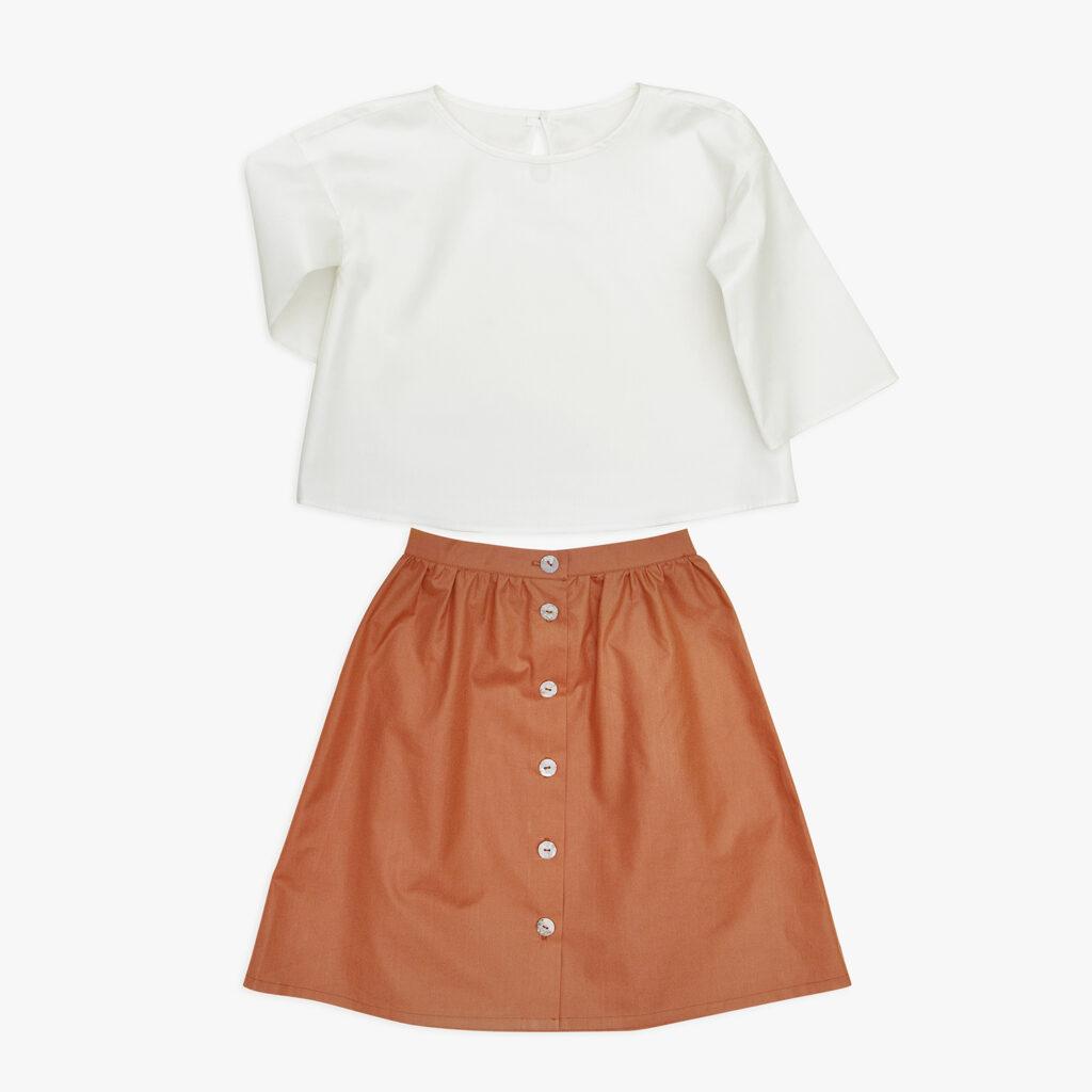 Agata skirt and Mary  blouse