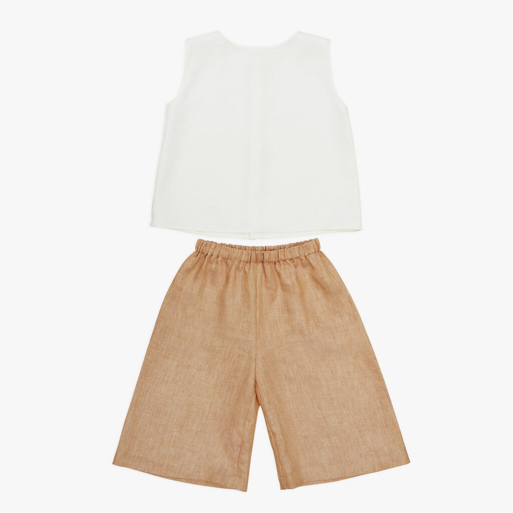 Ambre trousers and Lucia blouse
