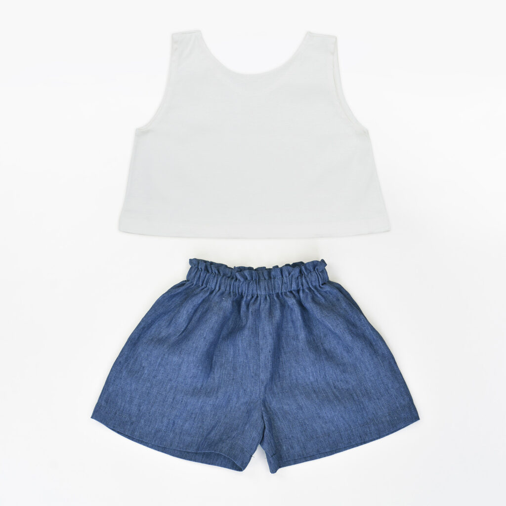Annie Jeans shorts and Chiara top