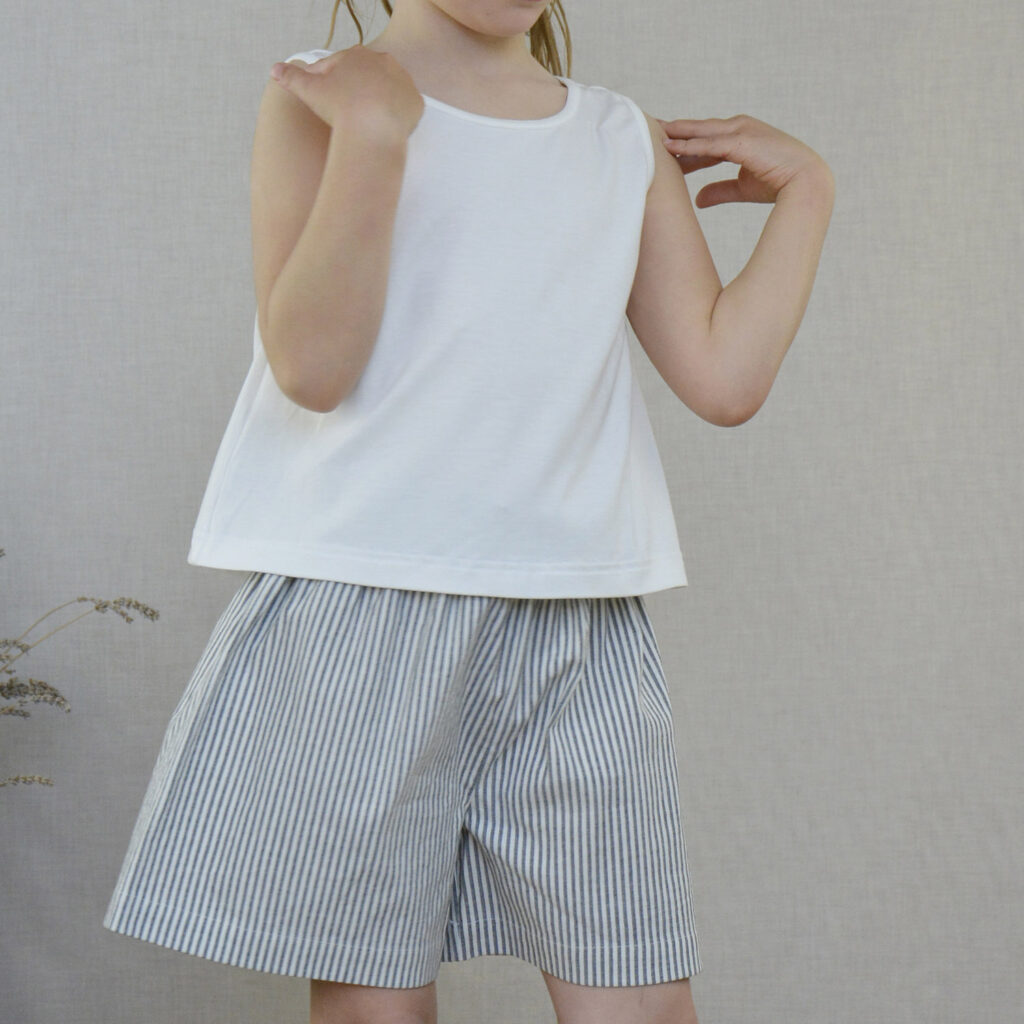 Annie Jeans striped shorts and Chiara top