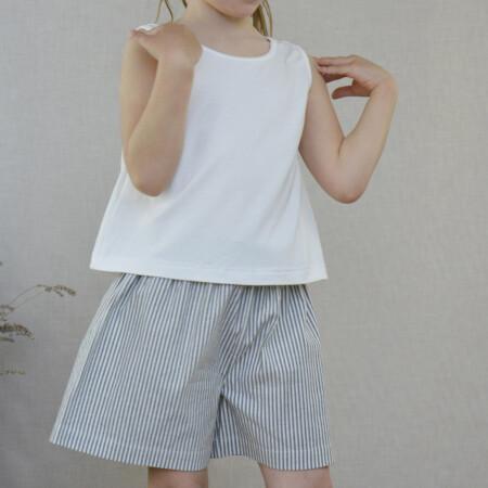 Shorts Annie Jeans righe e top Chiara