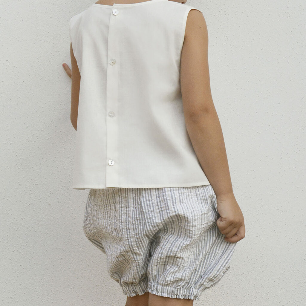 Frida bloomer and Lucia blouse