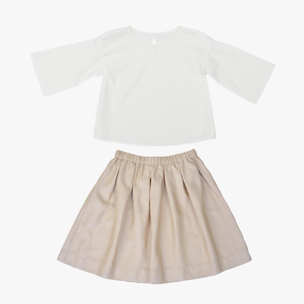 Mila skirt and Mary tunic
