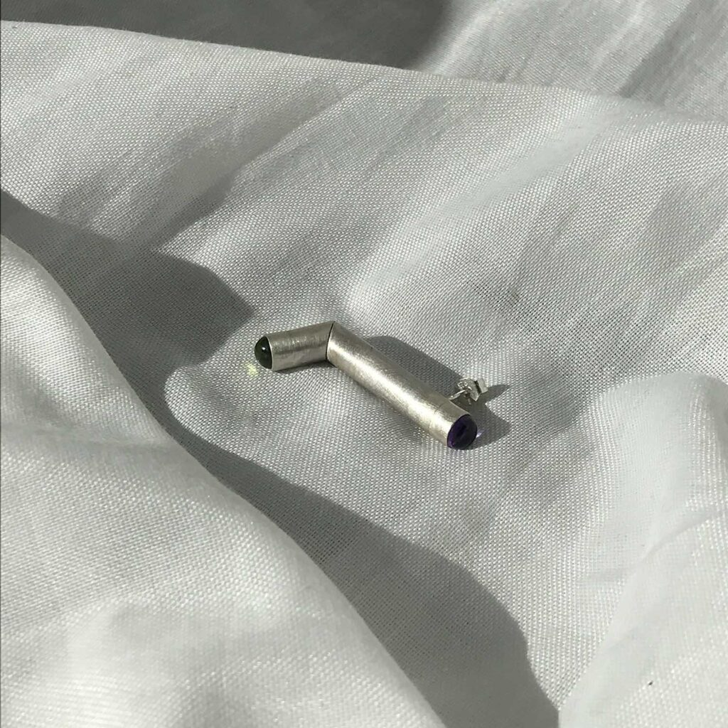 Silver tube II Amatista Peritodo