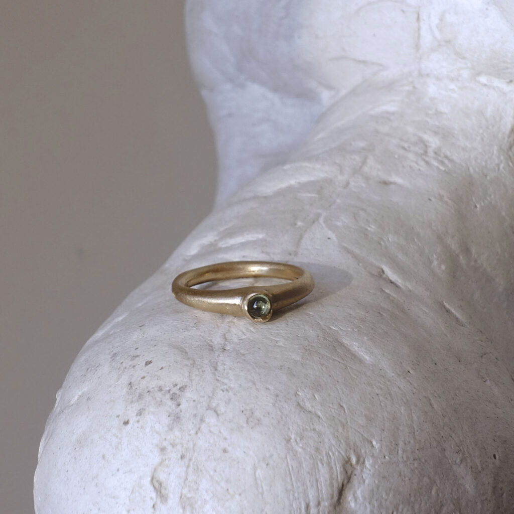 Drop with Stone Ring