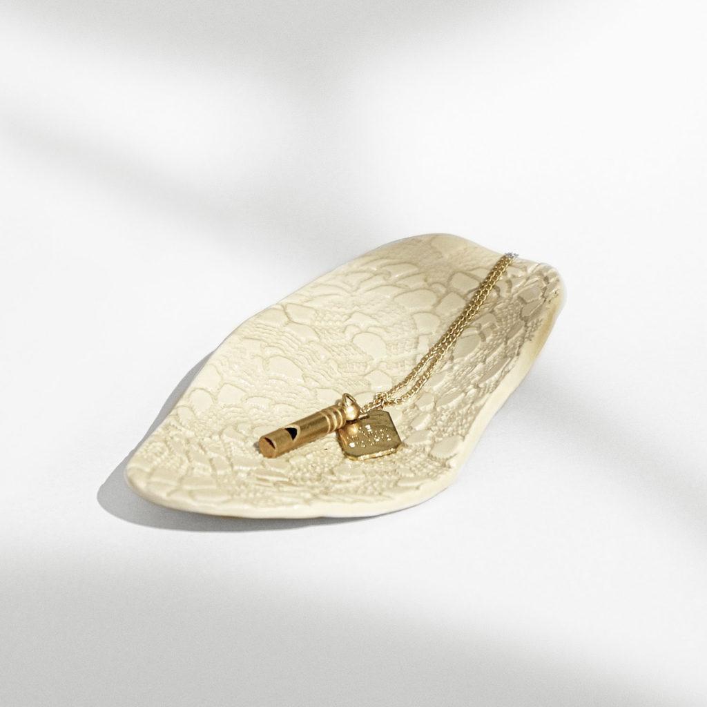 Legame – small crochet jewelry box
