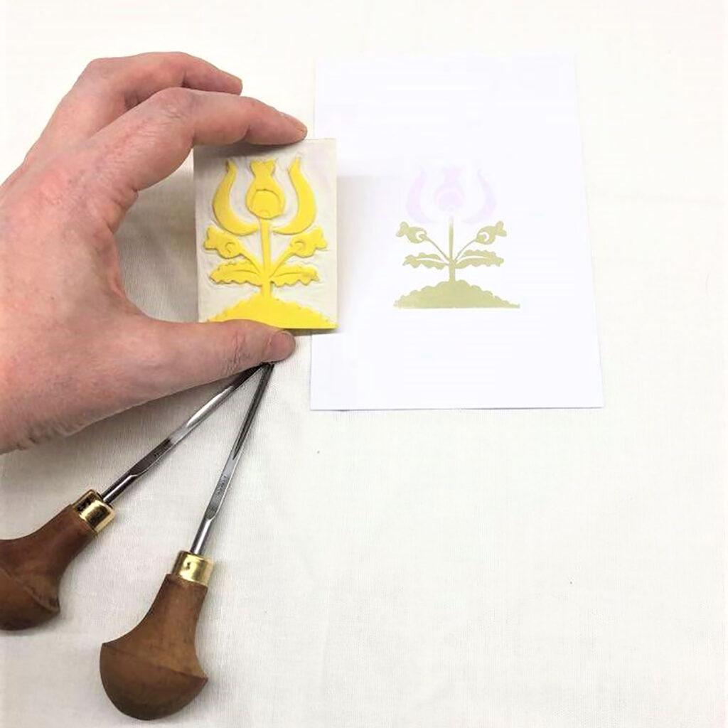 Timbro botanico IV