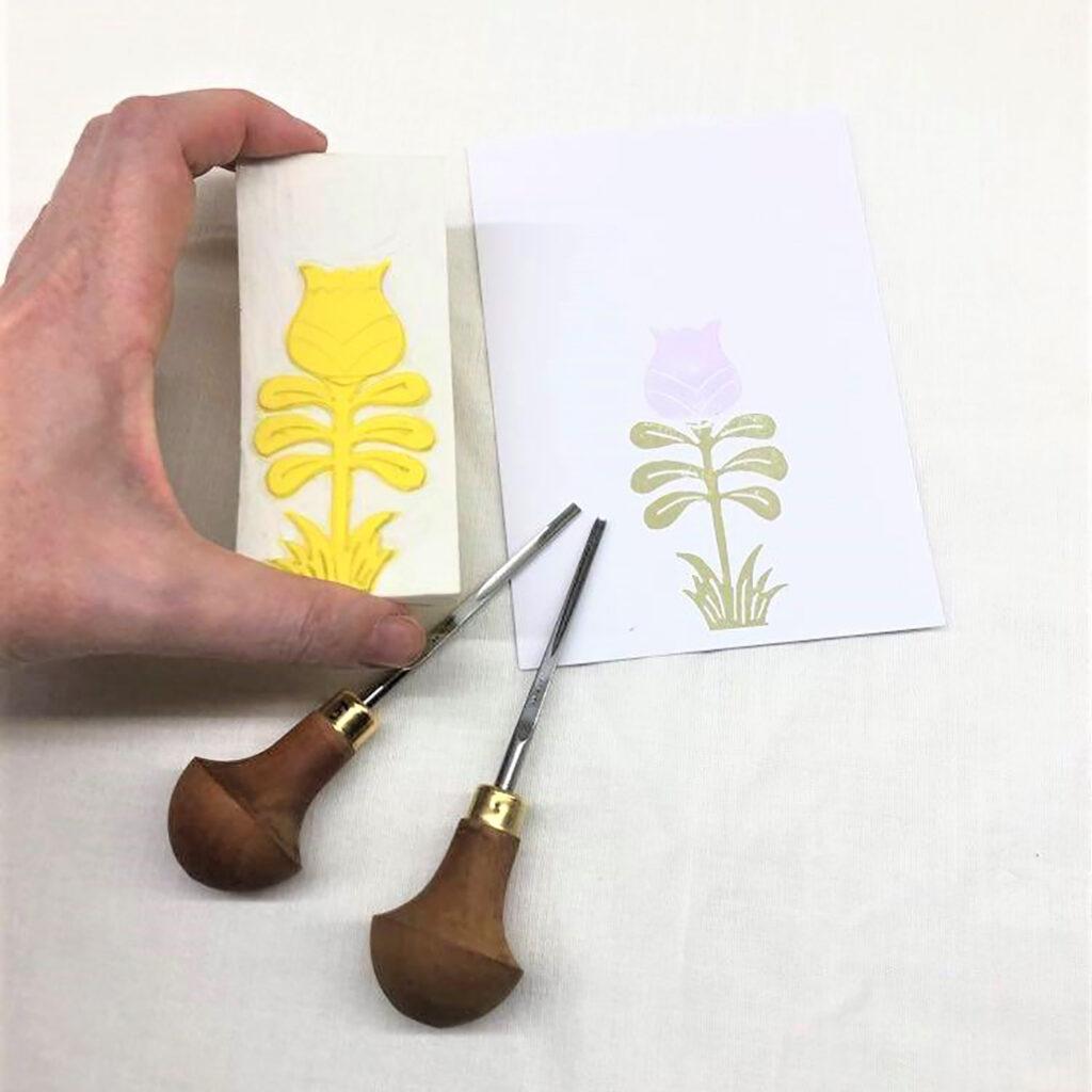 Timbro botanico V