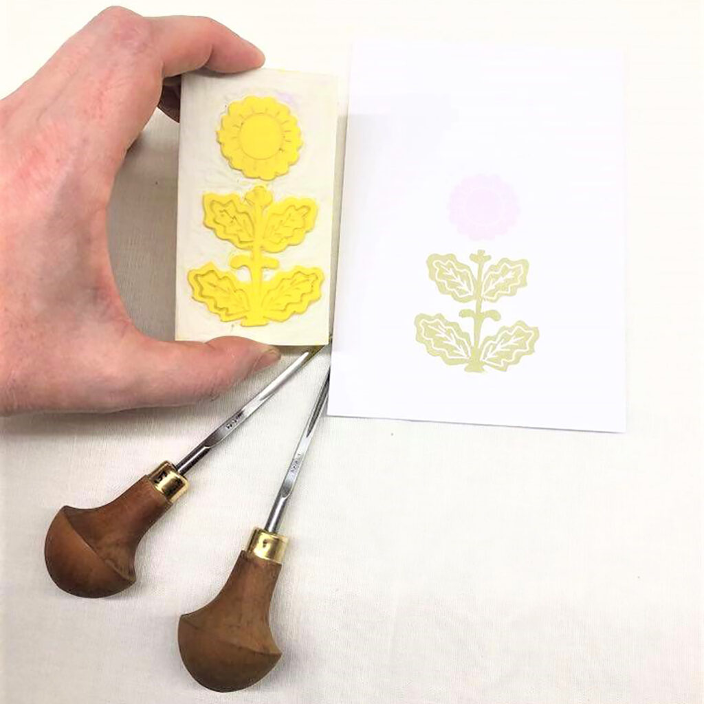 Timbro botanico VI