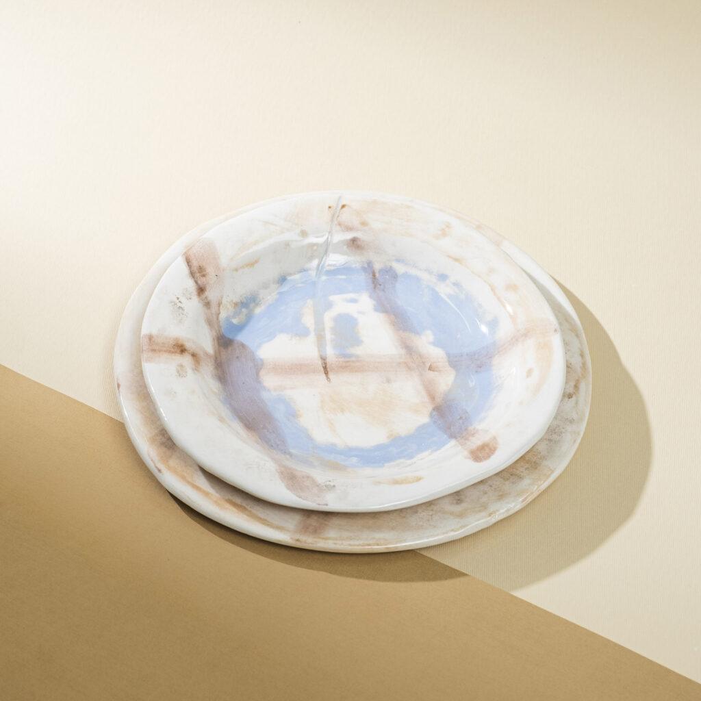 Casereccio plates