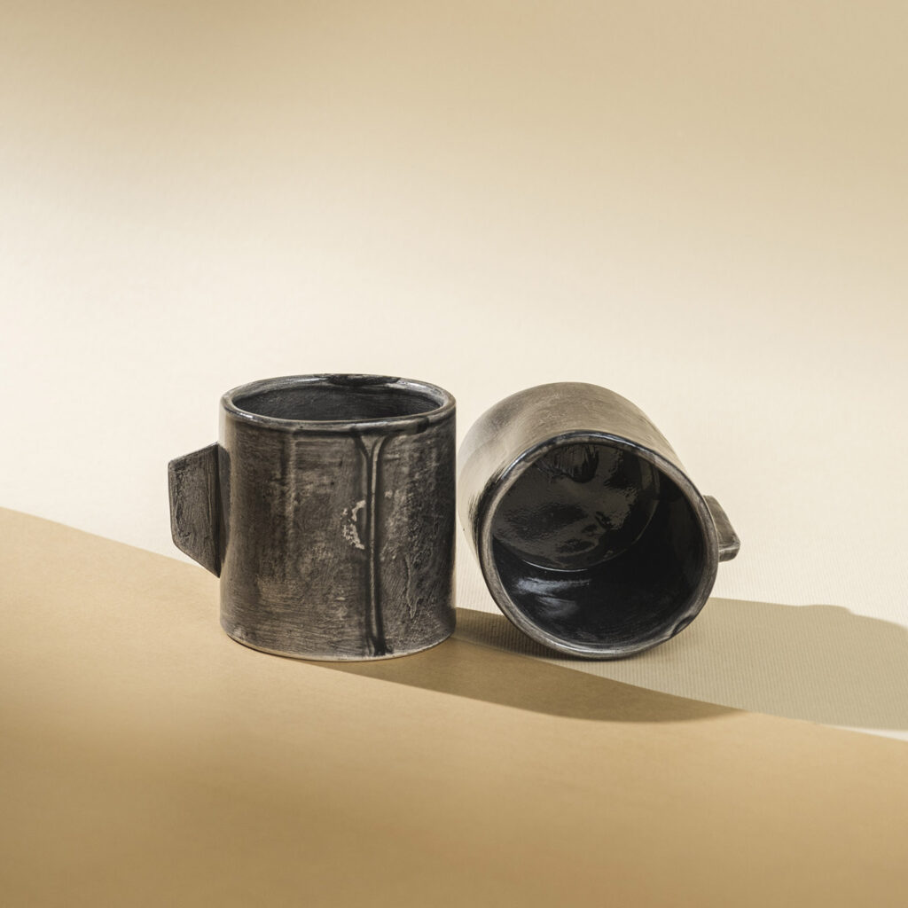 Coffee-oil cups