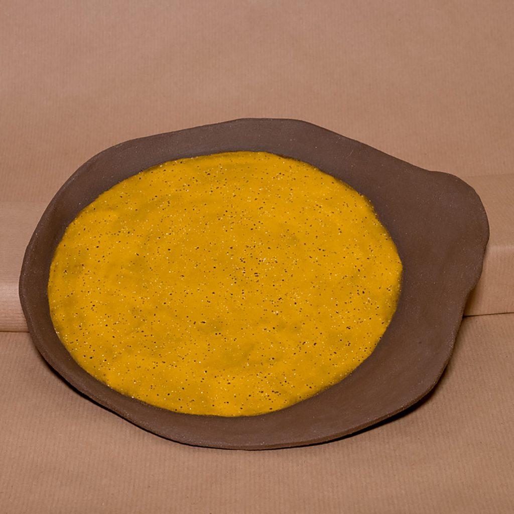 Kiwi orange plate
