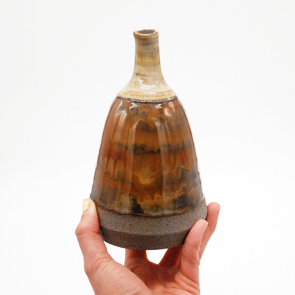Pera vase copper