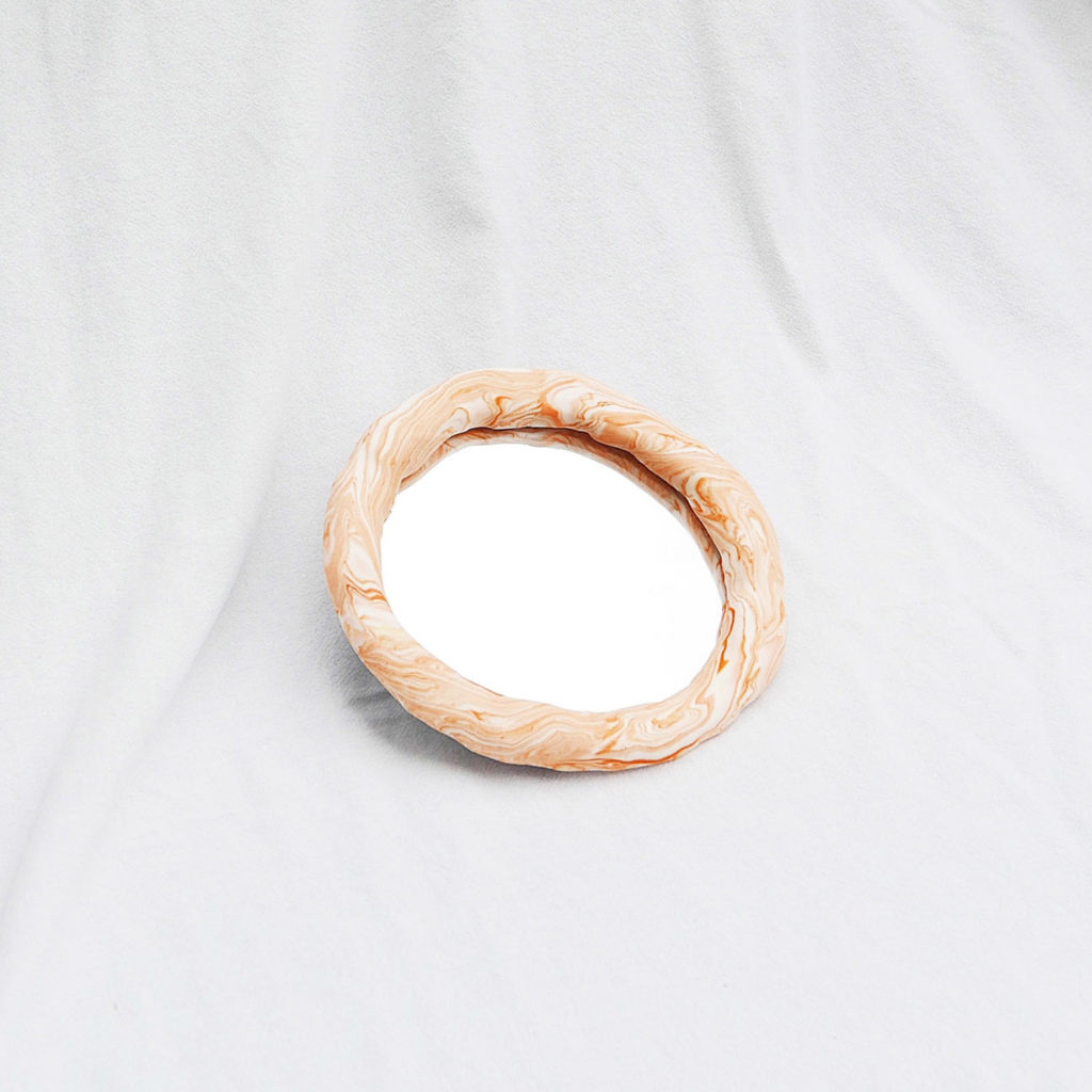 Fun/ctional: Chunky mirror marble