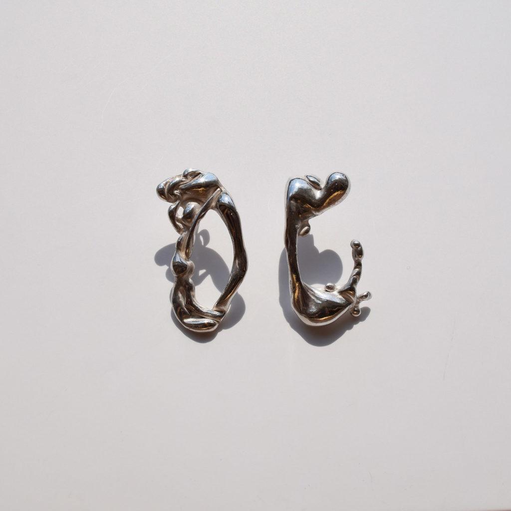 Lava earrings III