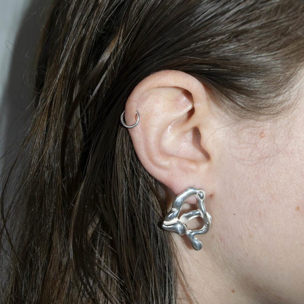 Lava earrings II