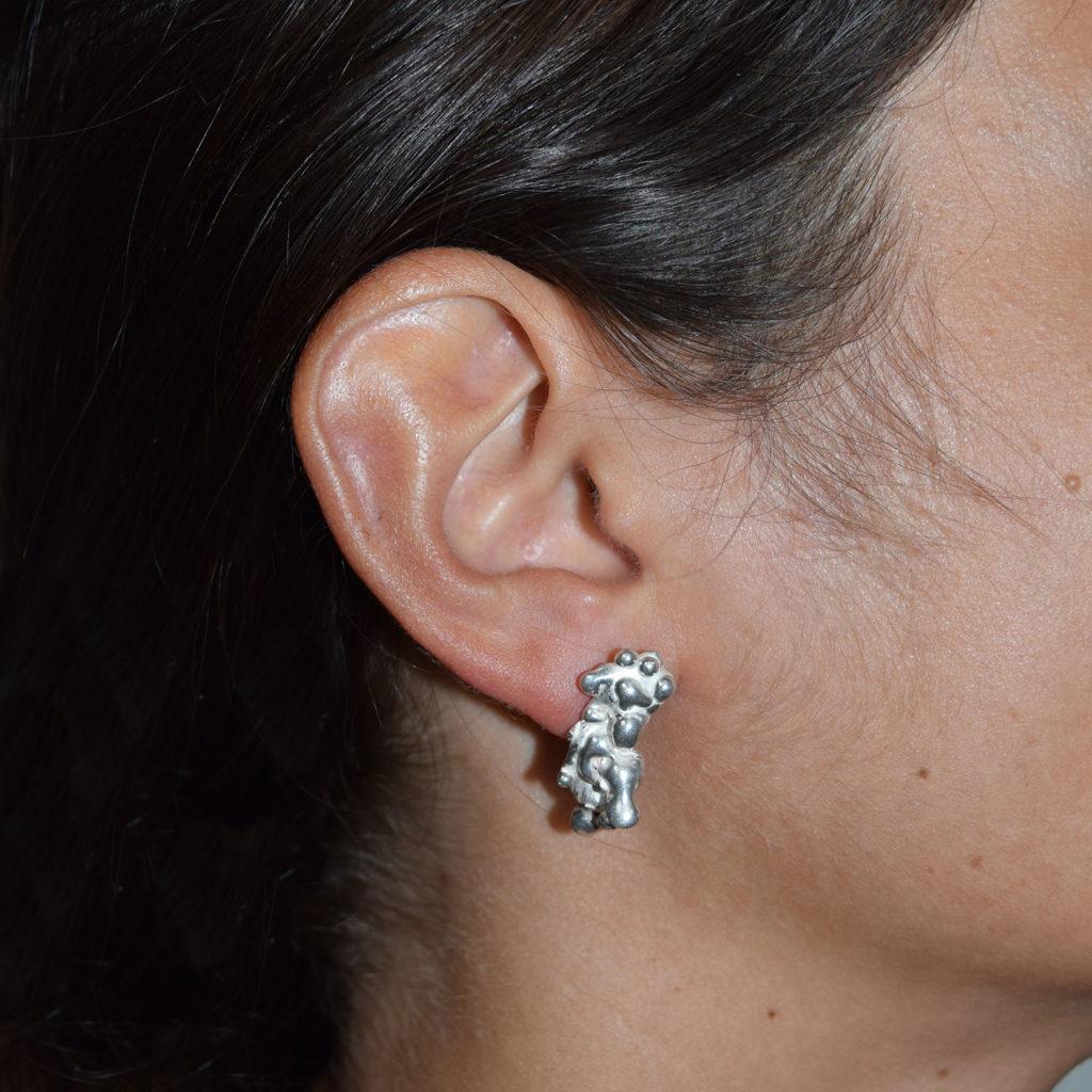Lava earrings IV