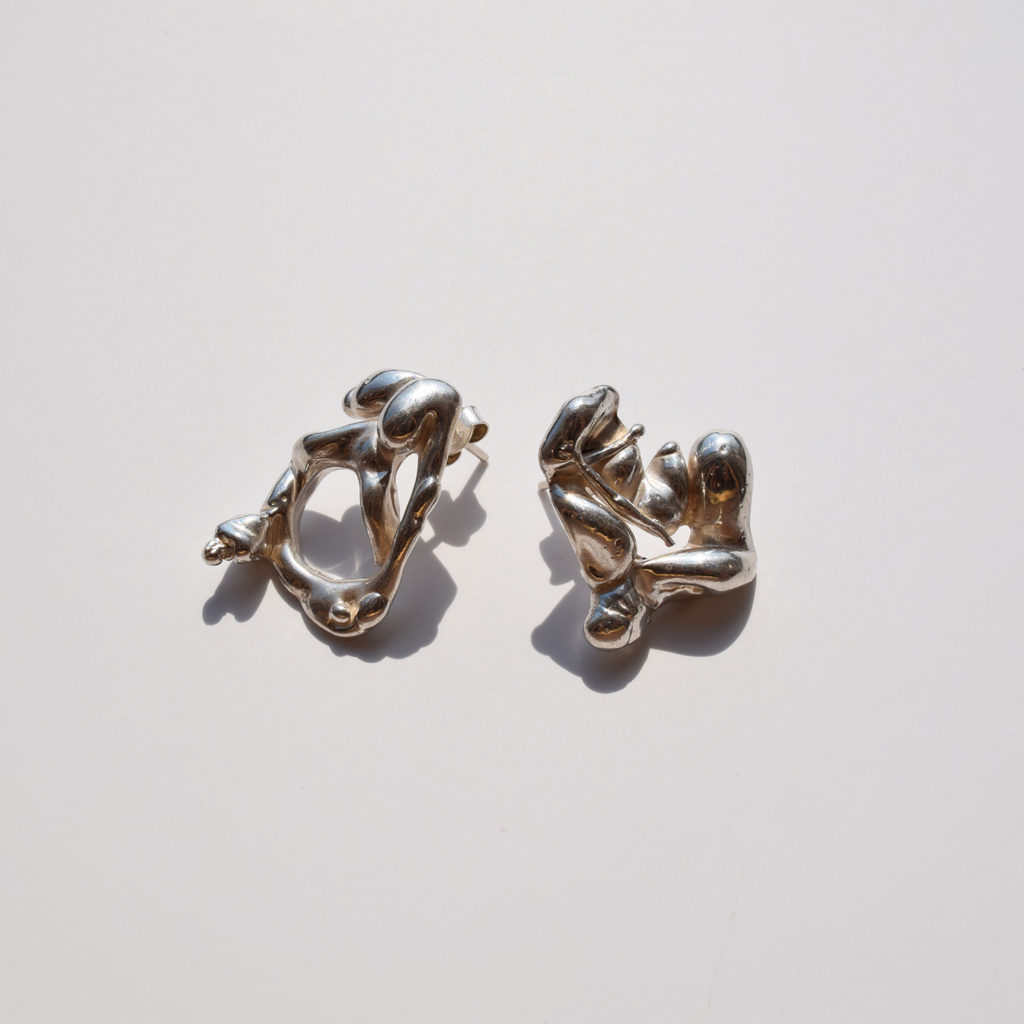 Lava earrings I