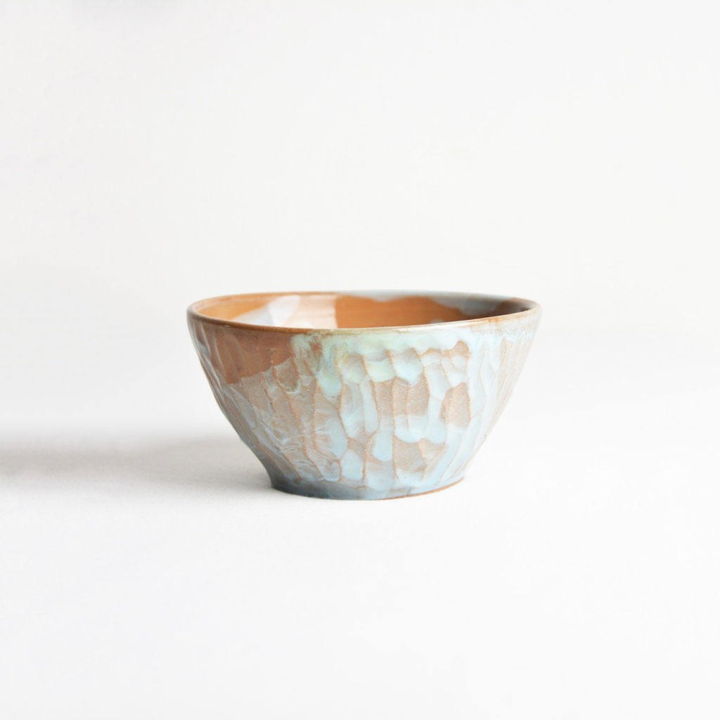 Orange-blue bowl