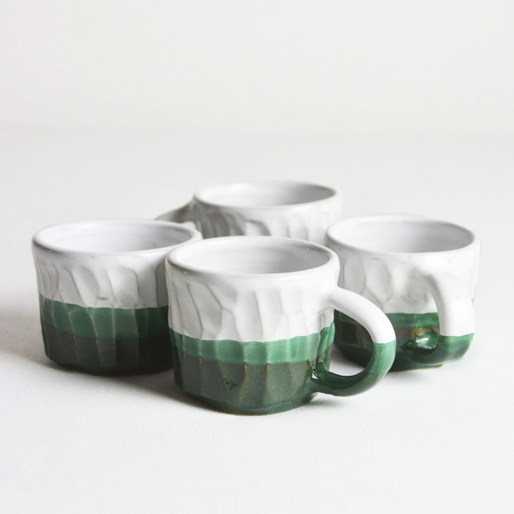 Coffee cups with handle